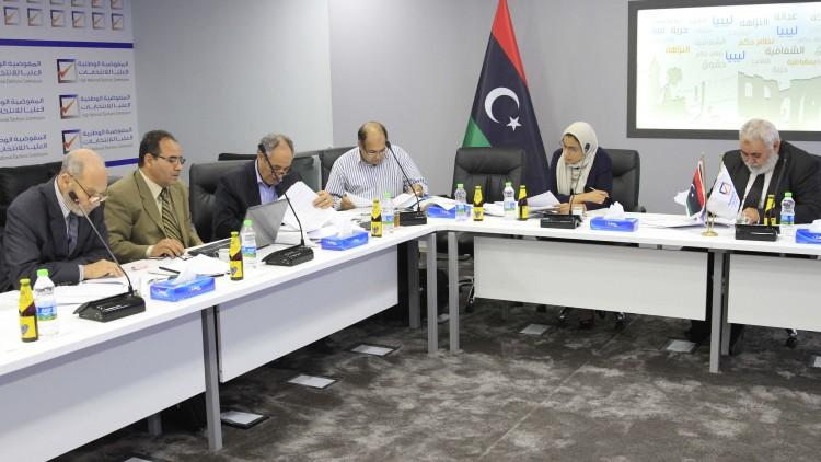 تواصُل اجتماعات لجنة مراجعة وتطوير التشريعات الانتخابية