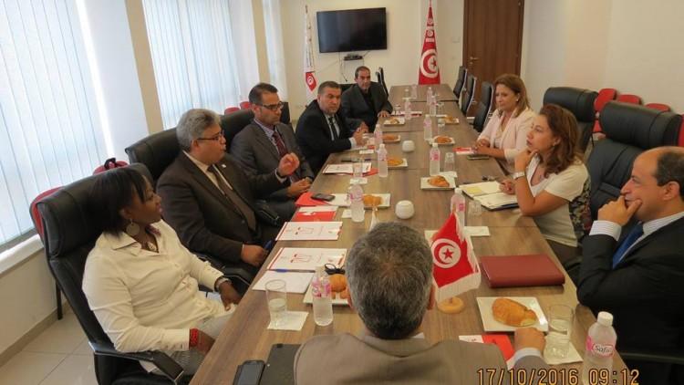 المباشرة في تفعيل مذكرة التفاهم الموقعة بين المفوضية وهيئة الانتخابات التونسية