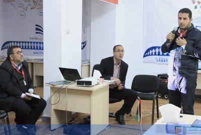 عرض تقرير مشاركة المفوضية ببرنامج الزائر الانتخابي في الانتخابات الأردنية