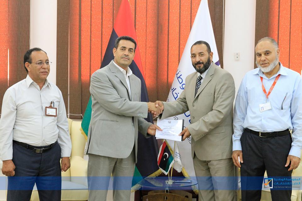 المفوضية تتسلم رسمياً مسودة مشروع الدستور الليبي