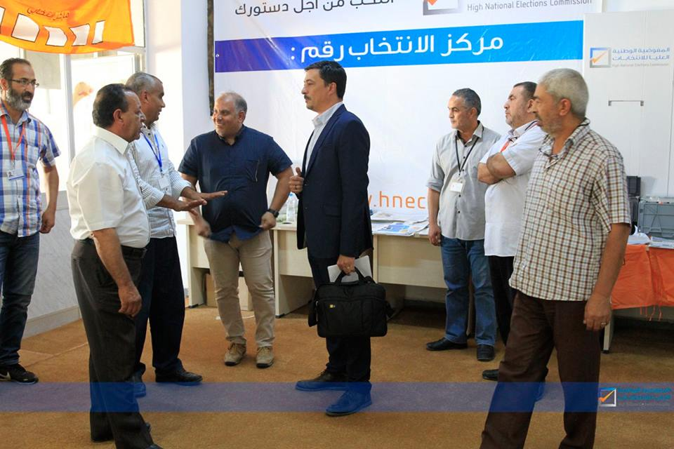 UNSMIL visits Tripoli Electoral Management Office