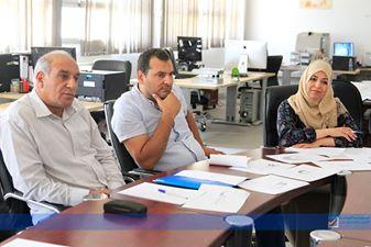إدارة التوعية تناقش التجهيزات للانتخابات القادمة