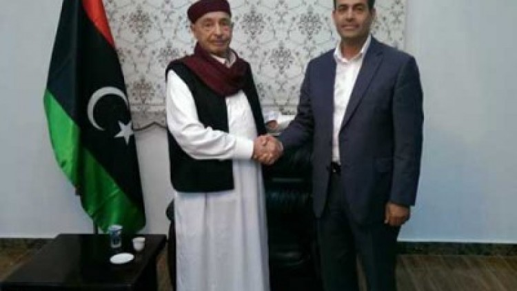 رئيس مجلس النواب يلتقي مع رئيس المفوضية العليا للانتخابات