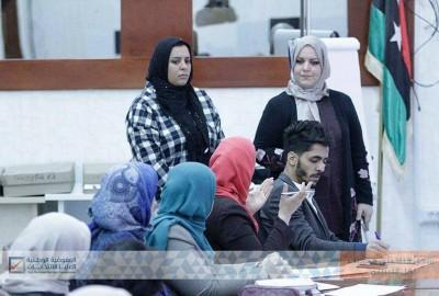 المفوضية تبحث سبل دعم المرأة في التسجيل الانتخابي