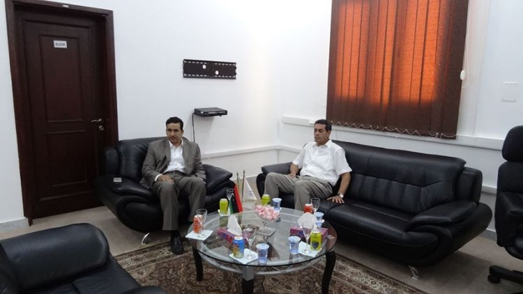 رئيس مجلس المفوضية يناقش مع النائب الأول لمجلس النواب التجهيزات للعملية الانتخابية المقبلة