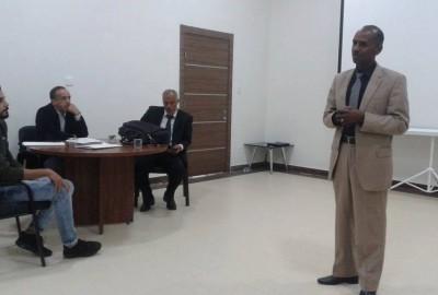 نشاطات تدريبية بمكتب الإدارة الانتخابية بنغازي
