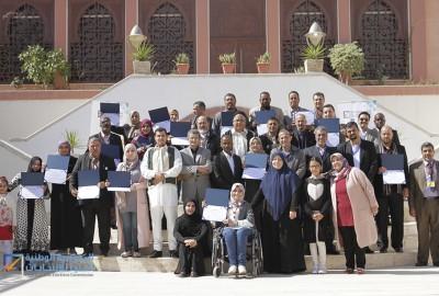 اختتمت صباح اليوم الجمعة بمدينة طرابلس دورات تدريب المدربين (TOT)