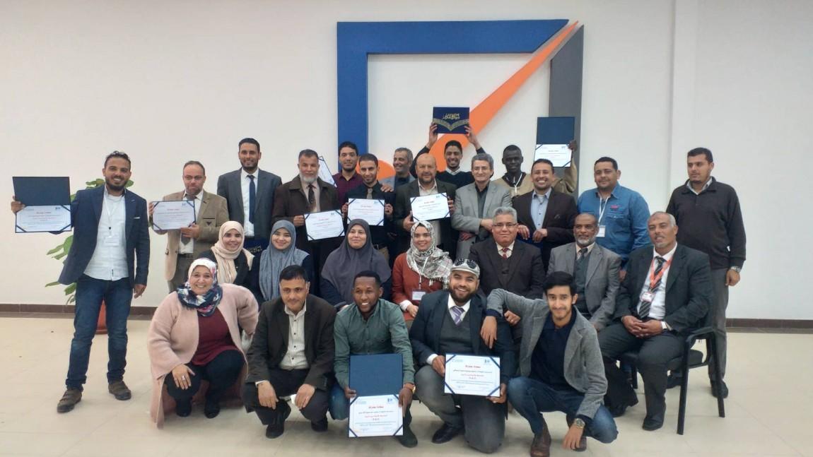 اختتام دورة تدريب المدربين بمدينة بنغازي