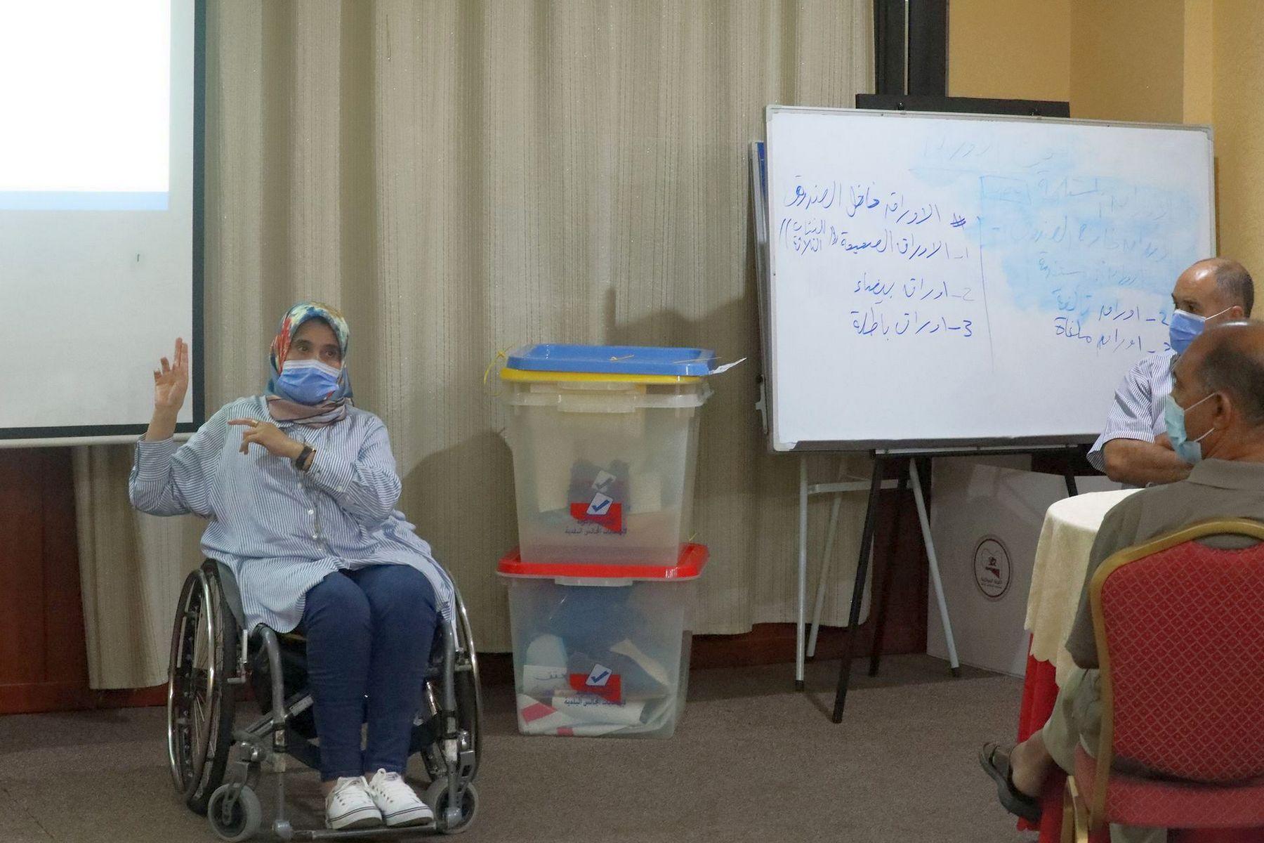 الوصول الميسر.. محور نشاط تعاوني تنفذه وحدة دعم الأشخاص ذوي الإعاقة