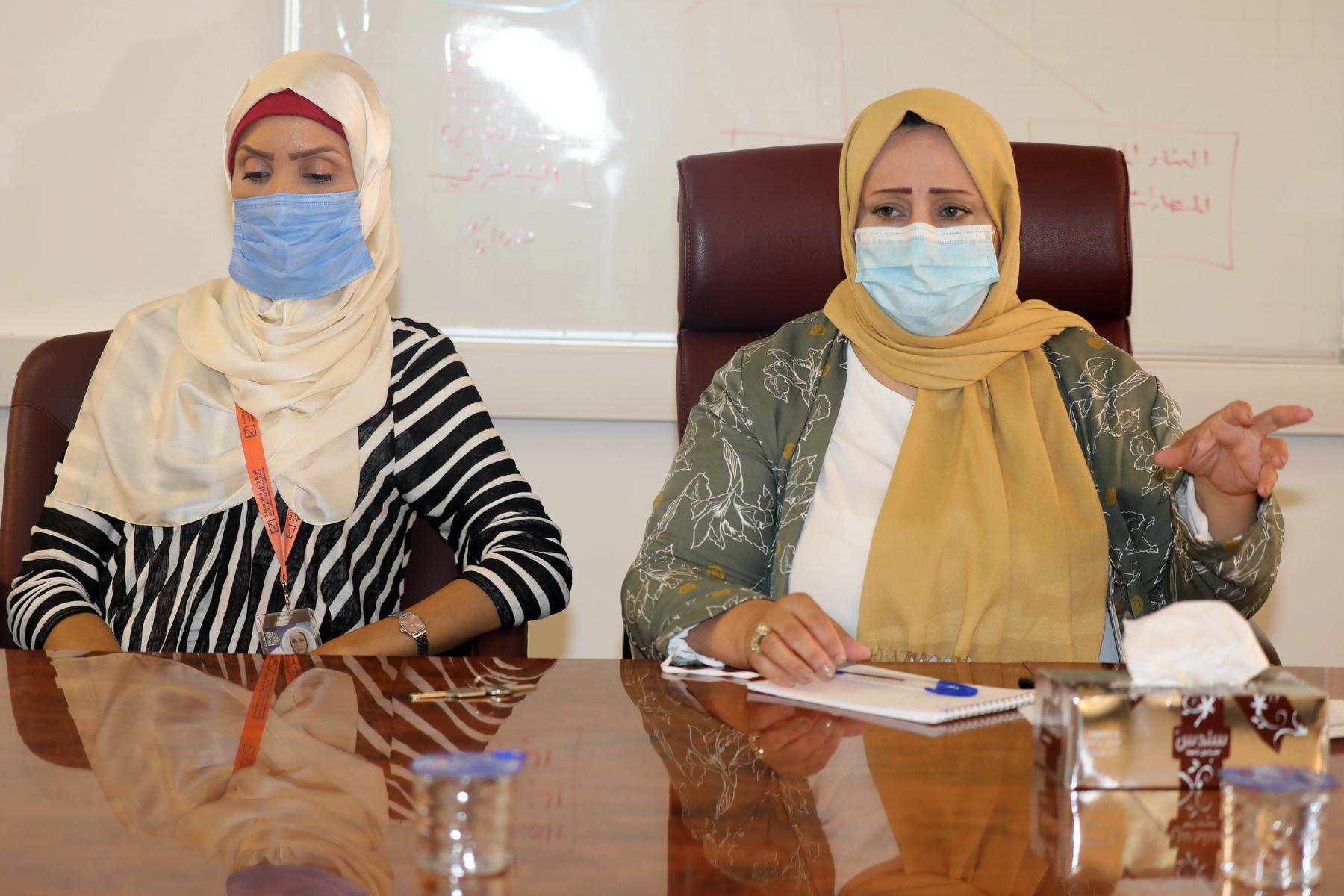 وحدة دعم المرأة تعقد اجتماعها التحضيري مع ممثلين عن المكونات الثقافية