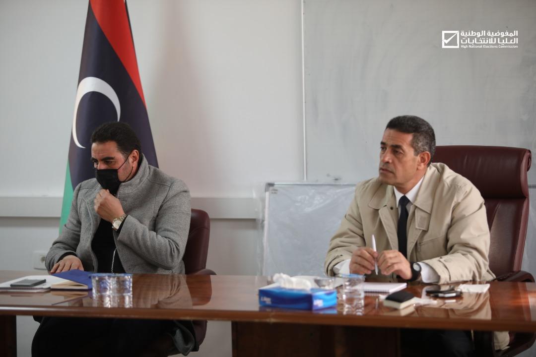 المفوضية تعقد اجتماعها الدوري الثاني وتناقش متطلبات العملية الانتخابية المرتقبة .