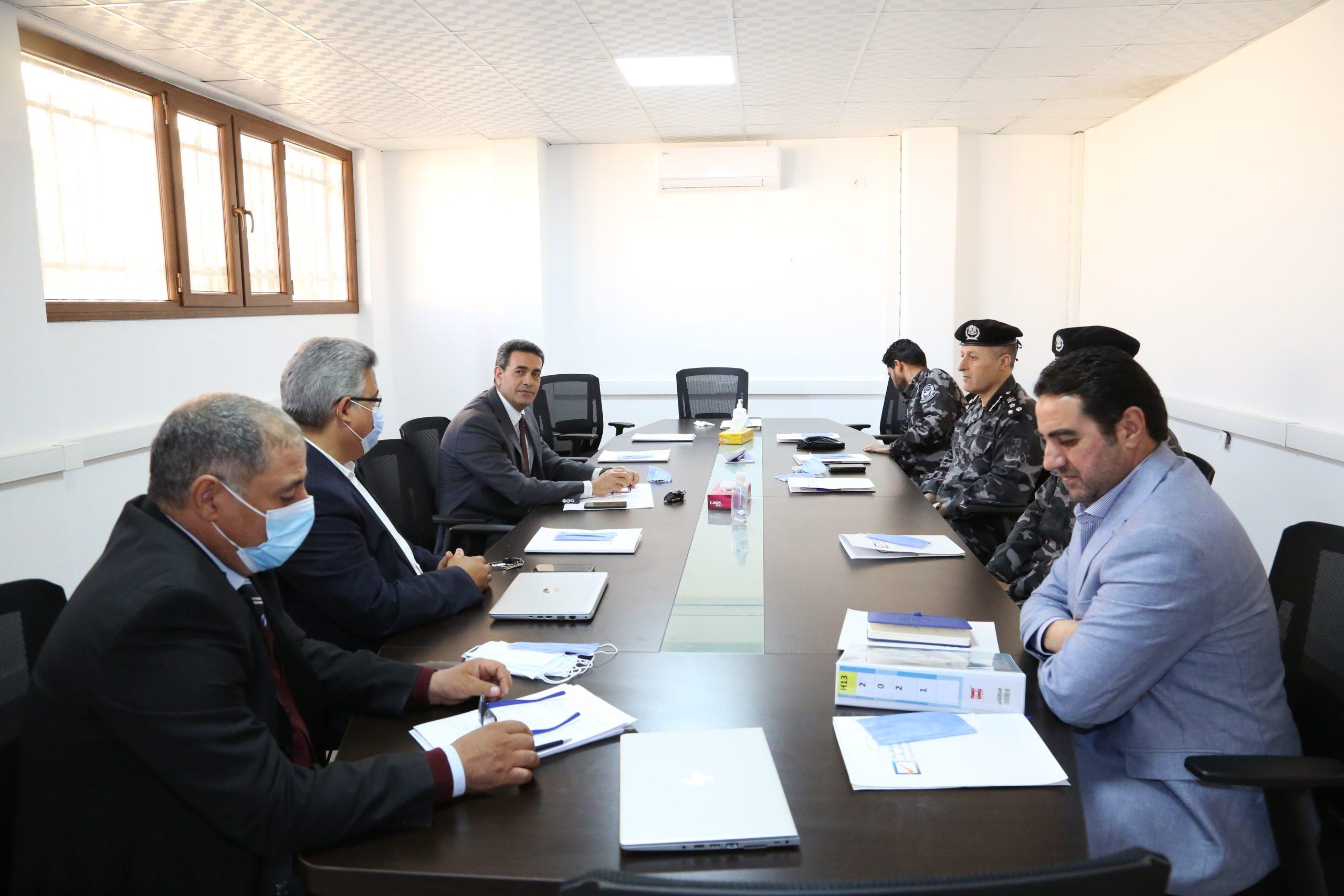 الخطة الأمنية للانتخابات القادمة- محور اجتماع المفوضية مع وزارة الداخلية