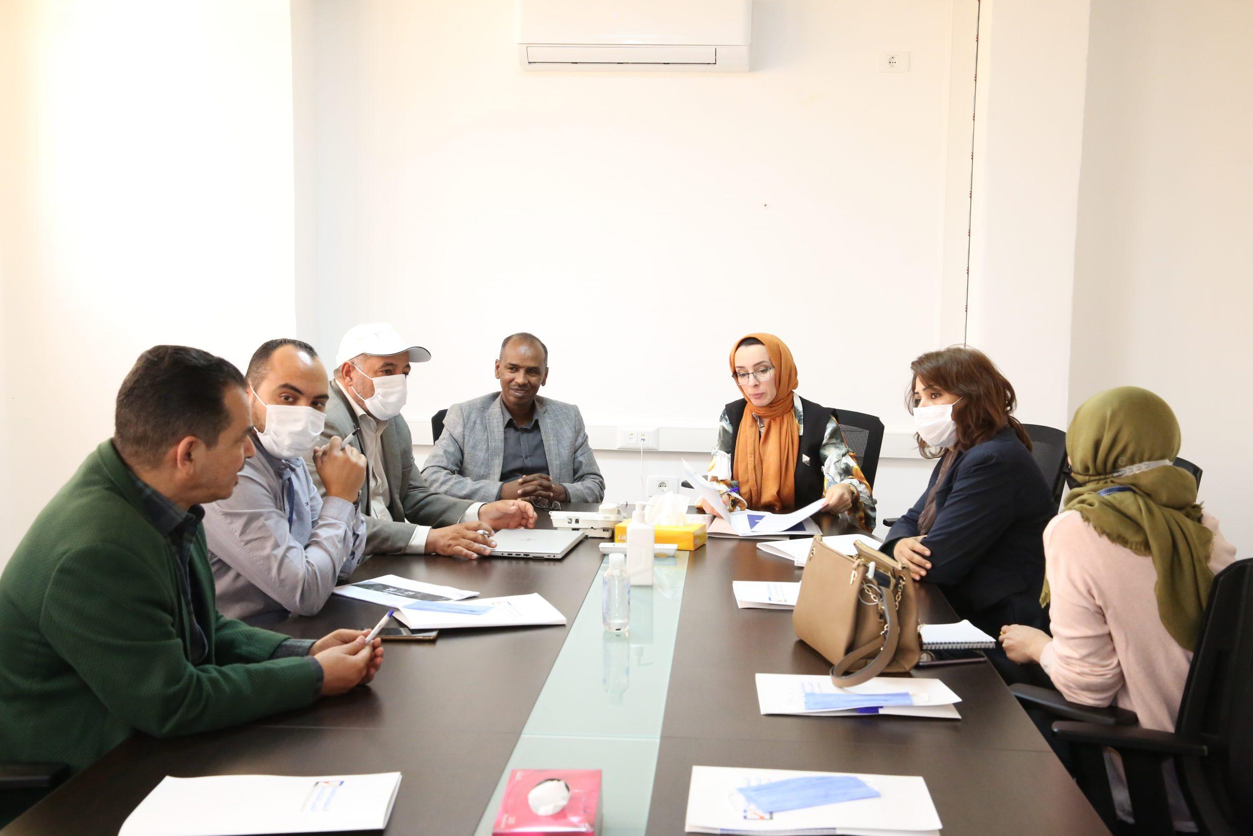 مجلس المفوضية يجتمع مع ممثلي حركة الكشافة والمرشدات