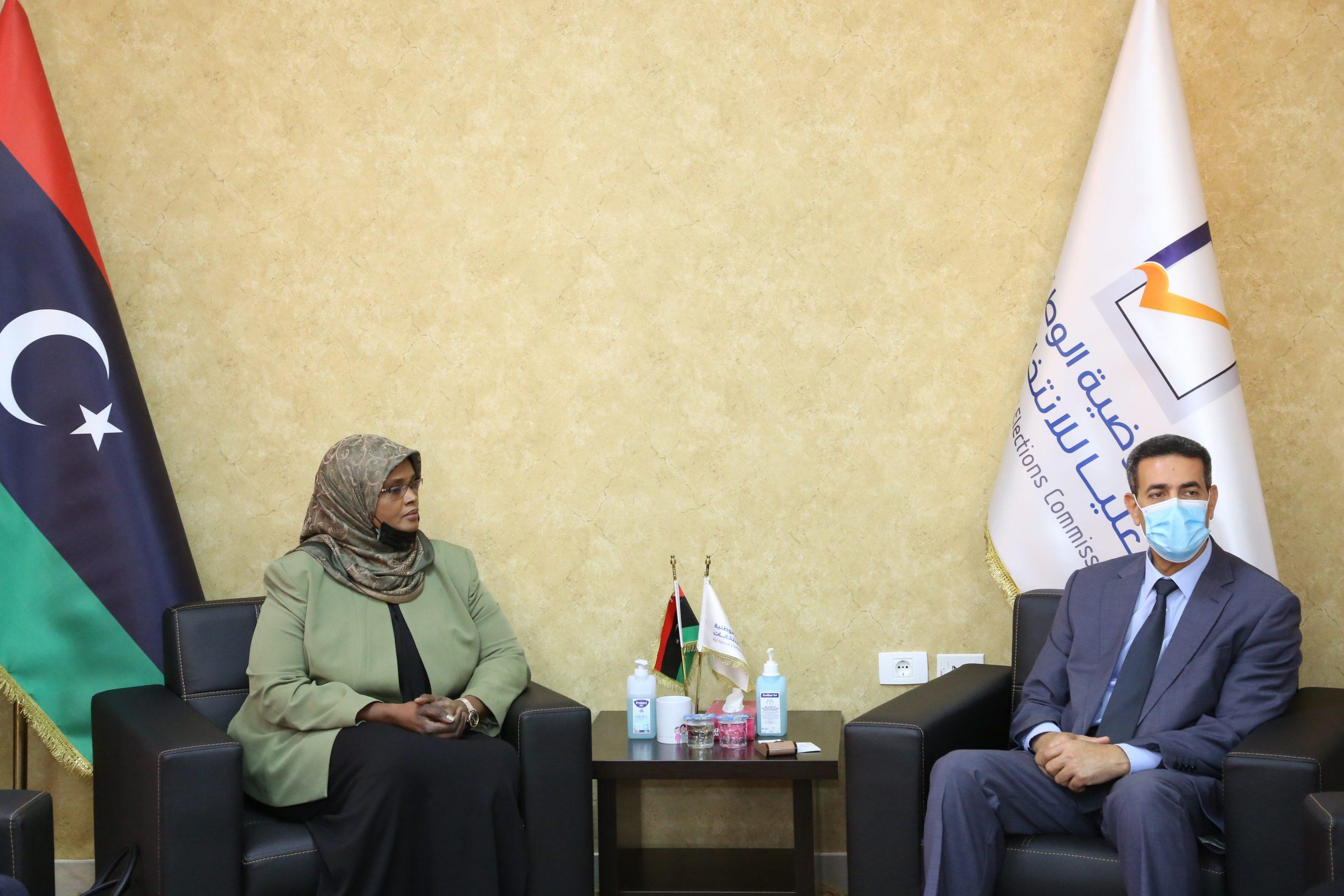 المفوضية تفتتح ملف التعاون مع وزارة الثقافة استعدادا للانتخابات القادمة