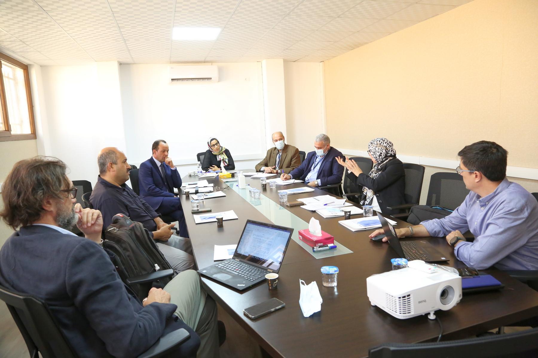 اجتماع بين المفوضية وإدارة التفتيش على الهيئات القضائية