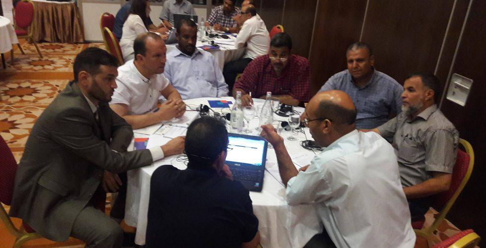 المفوضية تعقد ورشة عمل حول المخاطر الانتخابية