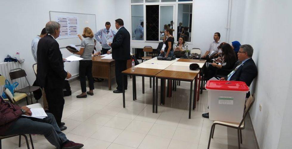 فريق من المفوضية يتابع عملية إنتخاب المجلس الأعلى للقضاء بتونس
