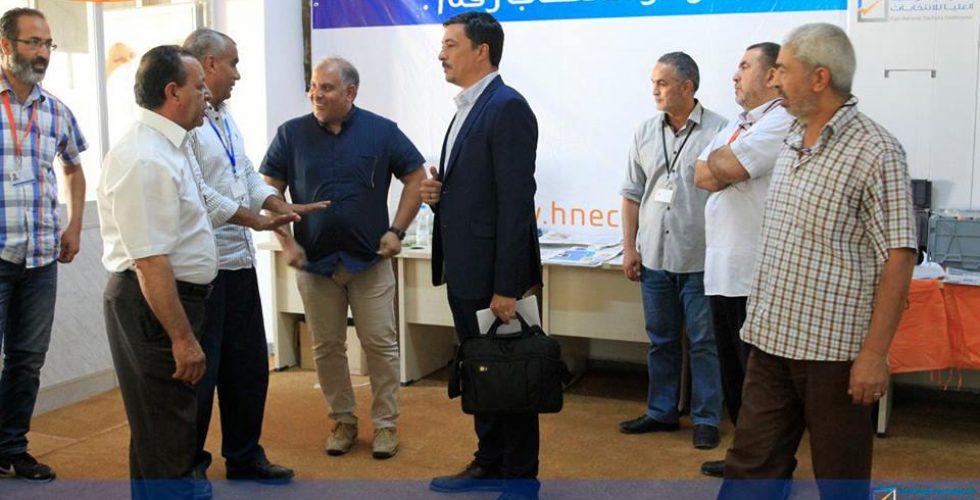 بعثة الأمم المتحدة لدعم الانتخابات تنظم زيارة لمكتب الإدارة الانتخابية طرابلس