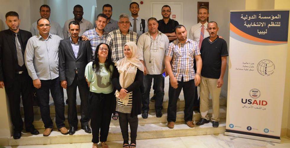 اختتام #ورشة عمل حول (إدارة مواقع التواصل الاجتماعي) ************************************************  اختتم في العاصمة التونسية (تونس) ورشة العمل حول (إدارة مواقع التواصل الاجتماعي) والتي التئمت في الفترة من 1 إلى 3أغسطس الجاري، تحت إشراف المنظمة الدولية للنظم الانتخابية ((IFES واستهدفت مشرفي صفحات التواصل الاجتماعي بمكاتب الإدارة الانتخابية. تأتي الورشة في إطار الخطة التدريبية الخاصة بالمفوضية الوطنية العليا للانتخابات، وتتضمن برنامجاً تدريبياً على كيفية إدارة صفحات التواصل الاجتماعي الخاصة بالمفوضية بالشكل المثالي، والعمل على وضع استراتيجية موحدة لإدارة تلك الصفحات بما يحقق خطط التوعية الانتخابية.