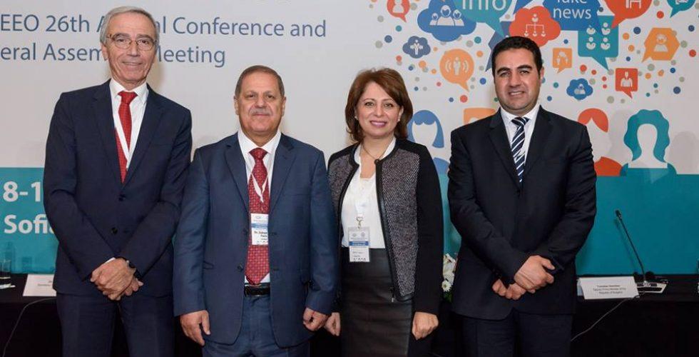 المنظمة العربية للإدارات الانتخابية تشارك في مؤتمر مسؤولي الانتخابات