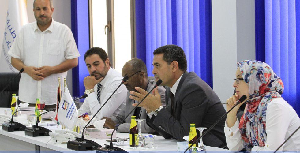 بحث سبل التعاون بين المفوضية وبعثة الأمم المتحدة لتقييم الاحتياجات الانتخابية